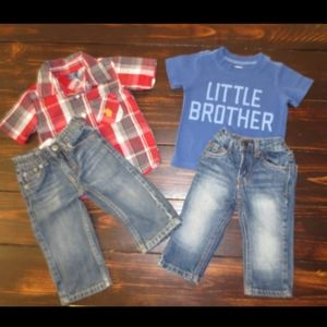 Set of Two Outfits~Size 12 Months
